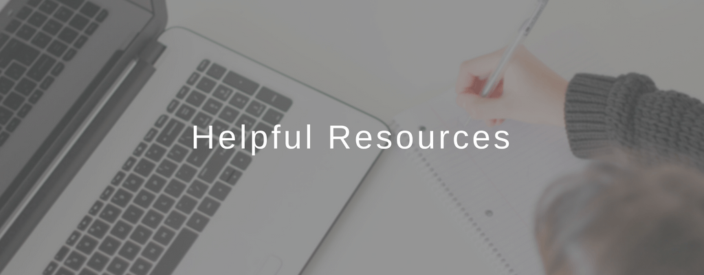 Visit our Helpful Resources Page